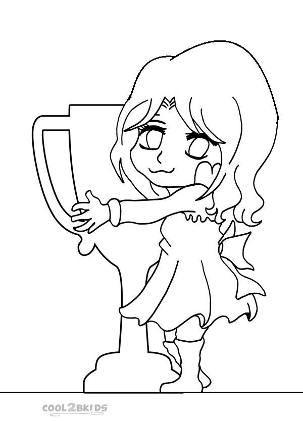Printable Chibi Coloring Pages For Kids | Cool2bKids | Cartoon ...