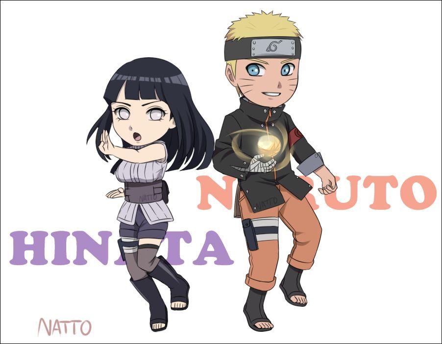 Tags: Fanart, NARUTO, Uzumaki Naruto, Hyuuga Hinata, Pixiv, PNG Conversion, Fanart From Pixiv, Nattouh, Naruto The Movie: The Last