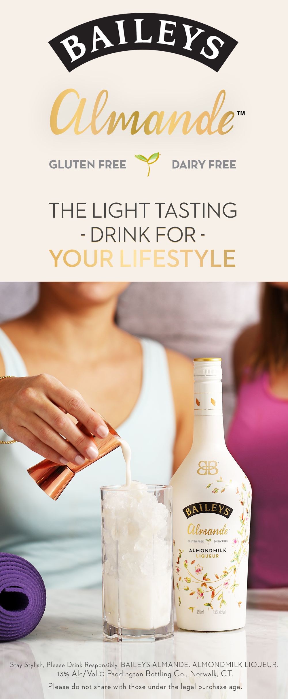 A drink for active and stylish