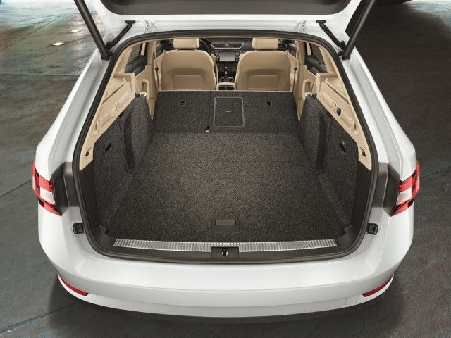 Skoda Superb S Superb Luggage Compartment