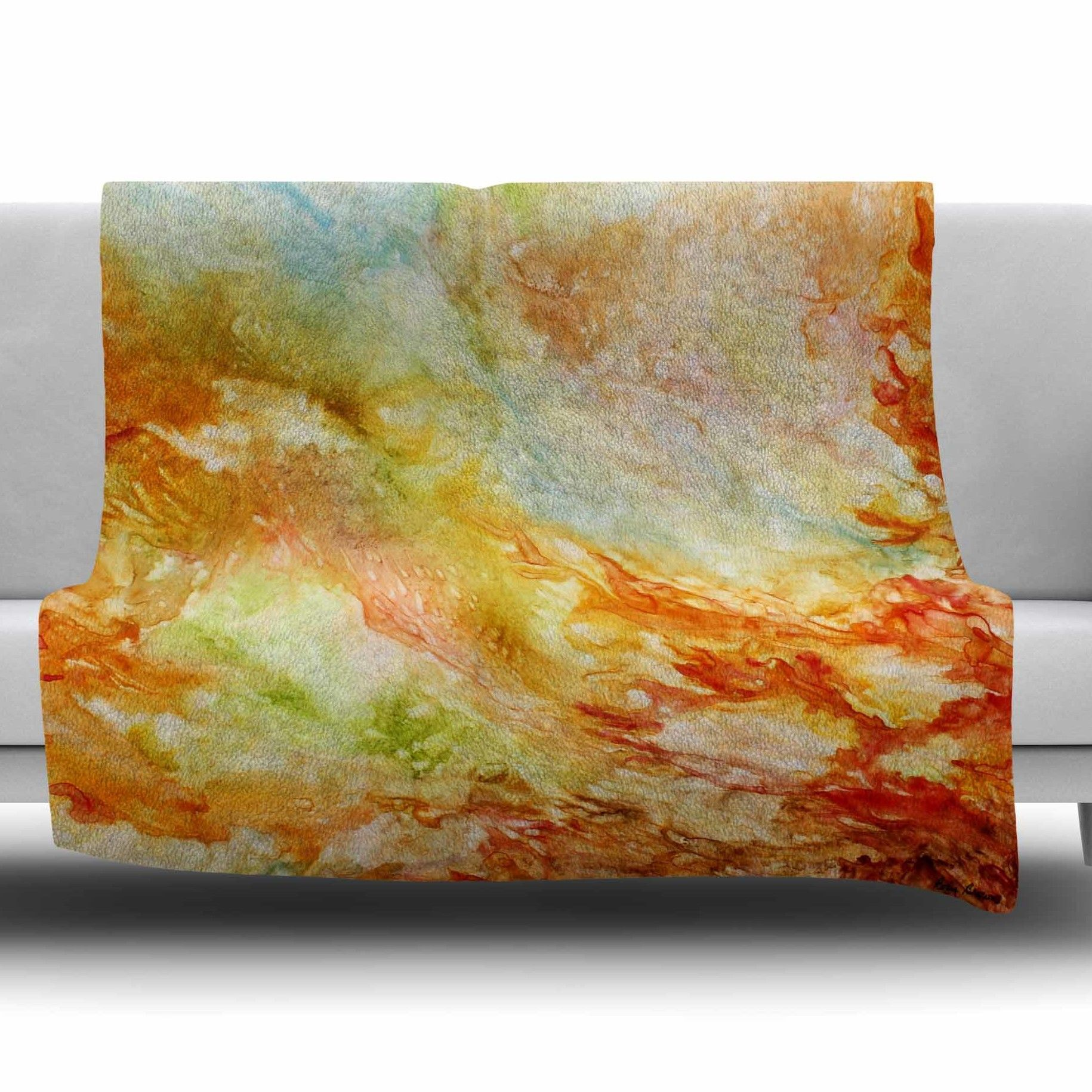 Autumn Breeze Fleece Throw Blanket