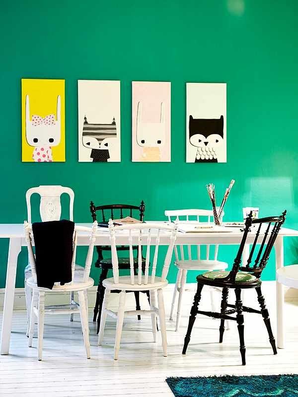 Renovar el Comedor con Pintura y Toques Originales | Pinterest ...
