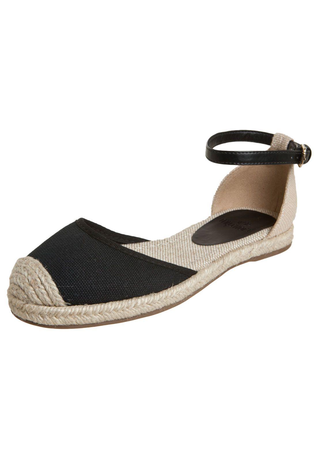 7c8a35508a Sapatilha My Shoes Alpargata Crochet Preto - Compre Agora