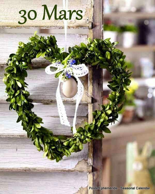 Éphéméride Seasonal calendar PRÉPARER ET FÊTER PÂQUES Pinterest - küche dekoration shop