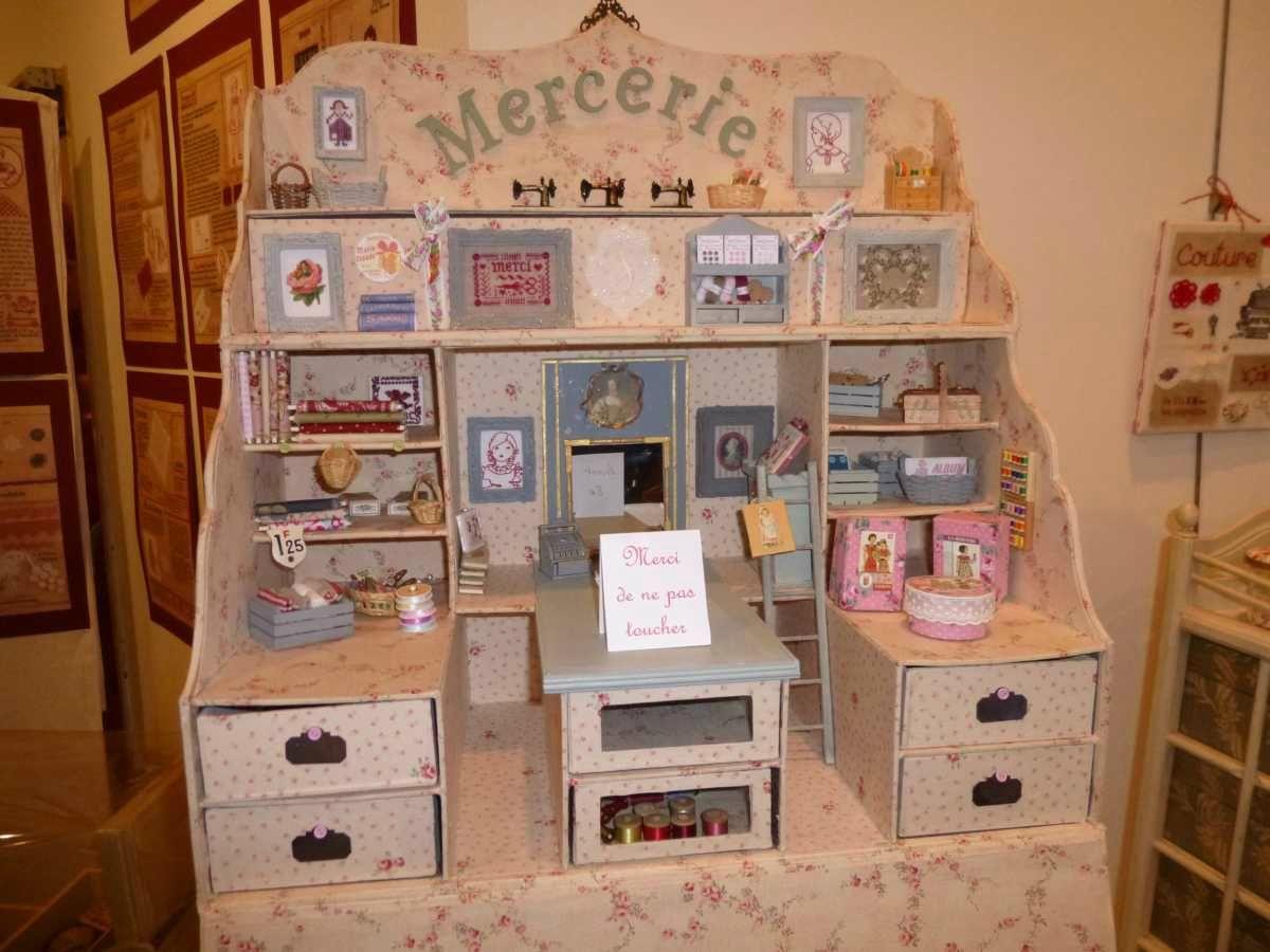 Exposition Yvelines Point De Croix Au Fil Des Idees De Caroline Point De Croix Boite A Couture Cartonnage