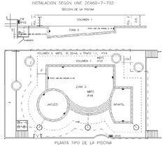 Planos Instalacion Jacuzzi.10 Volumenes De Piscinas Y Tomas De Tierra Diseno
