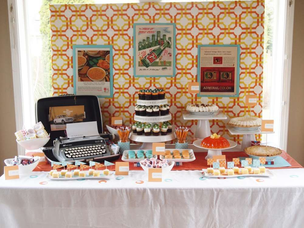 Mad Men Birthday Party Ideas Mad Men Party Mad Men Party Theme Mens Birthday Party
