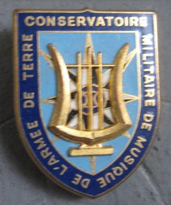 Insigne Conservatoire de Musique de l'Armée de Terre