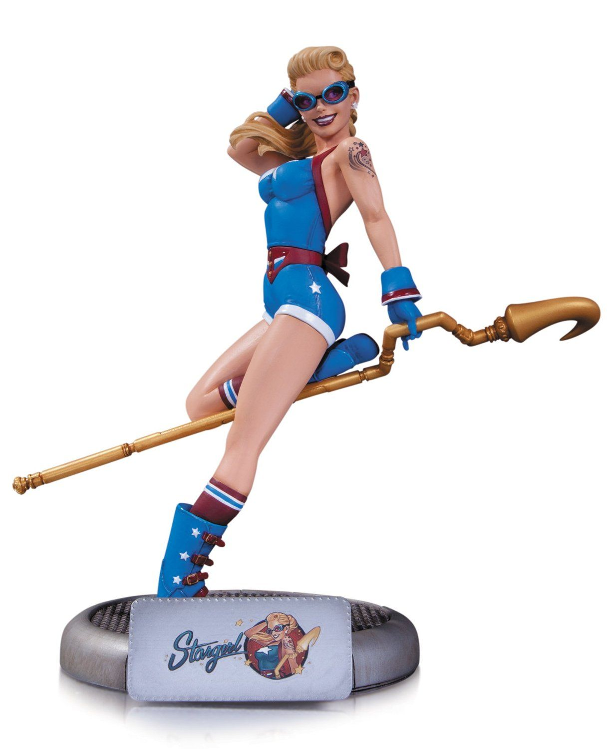 New DC Comics Bombshells Stargirl Statue Limited Edition Collectibles Official