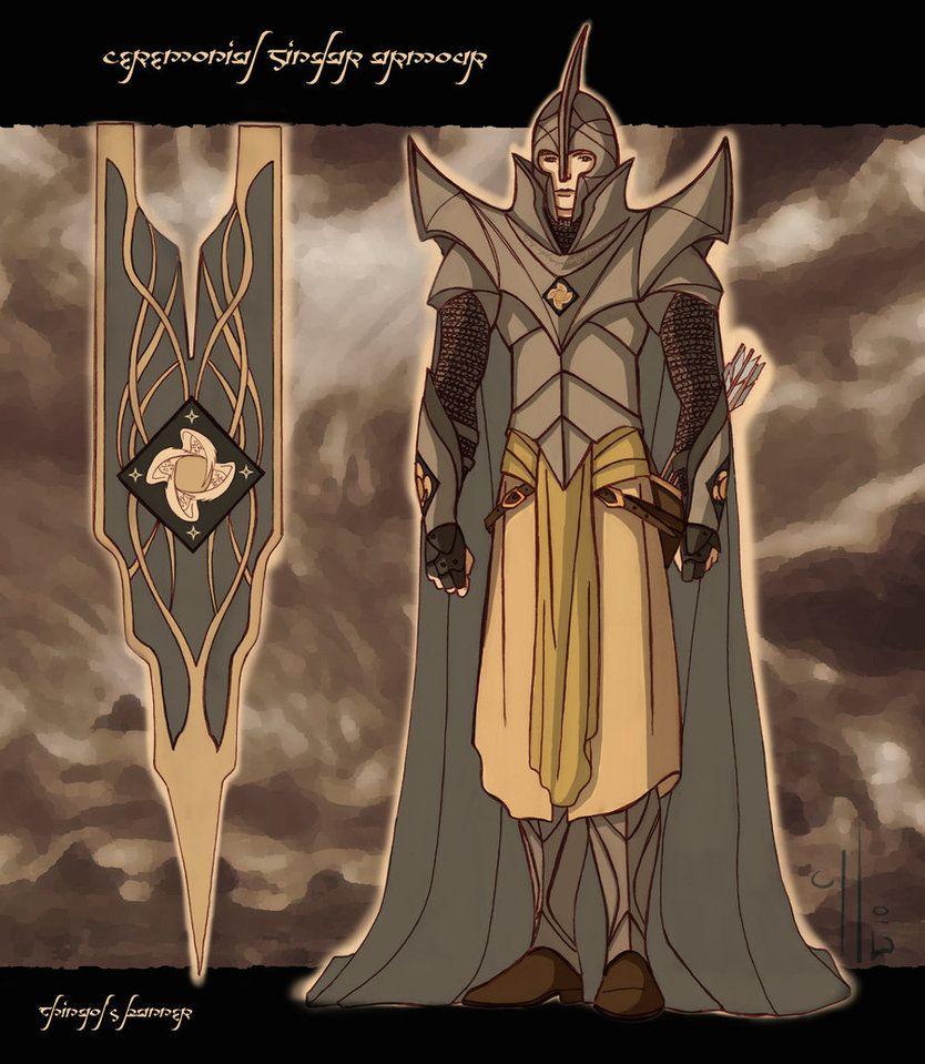12++ Sindar elves info