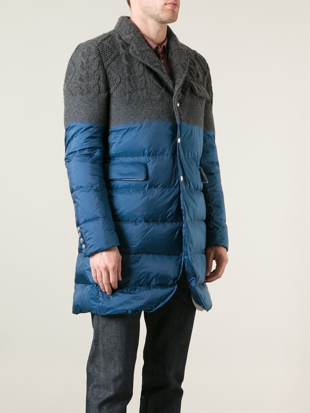 c710c6265 Moncler Gamme Bleu Padded Jacket - - Farfetch.com | *Elements of ...
