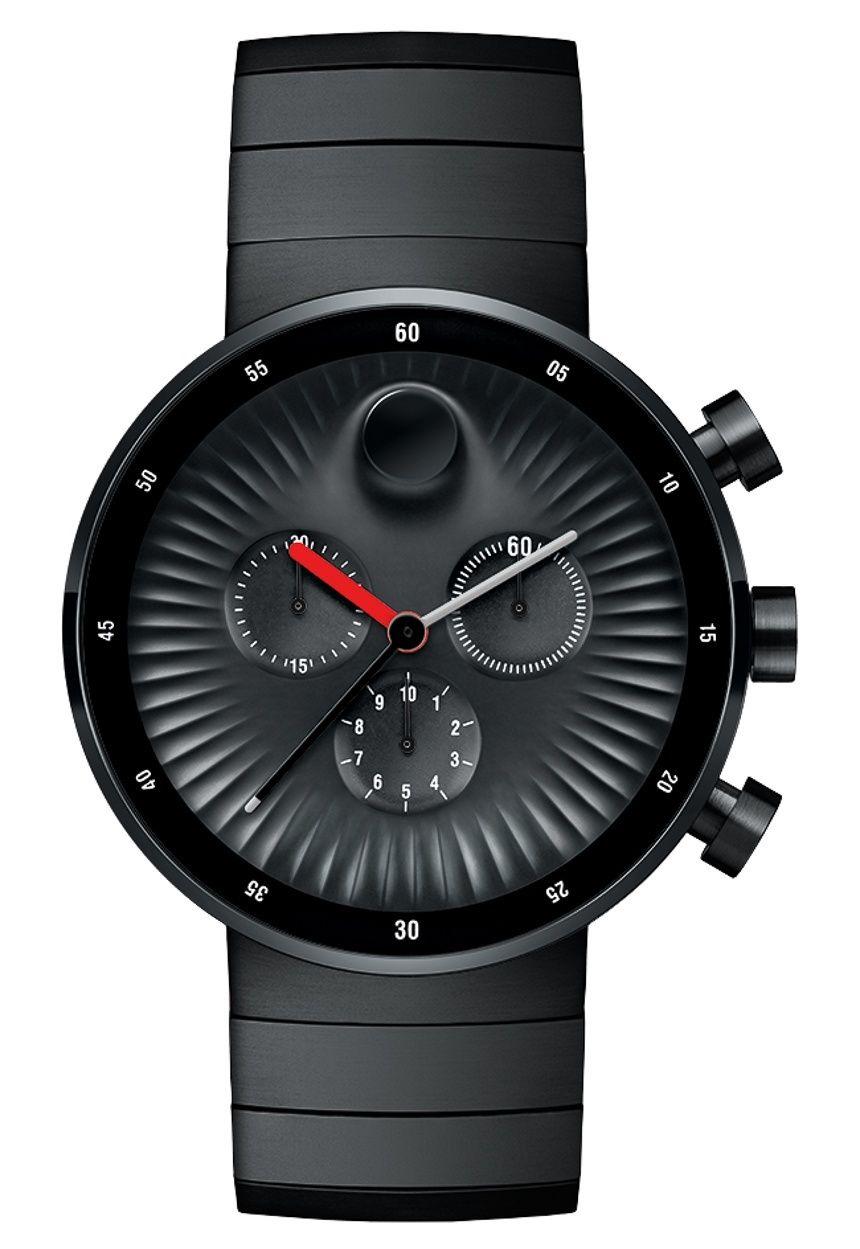 6b5ed479c Movado Edge Chronograph Watch Designed By Yves Behar | |<ul |)esiGNz ...