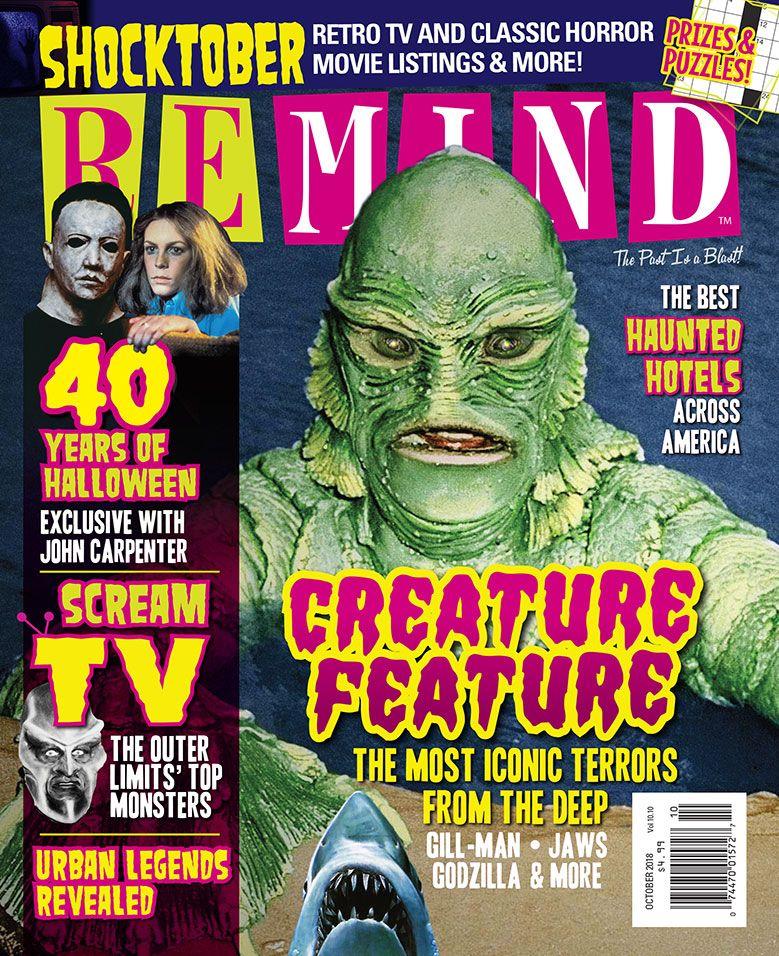 October 2018 ReMIND Magazine: Creature Feature