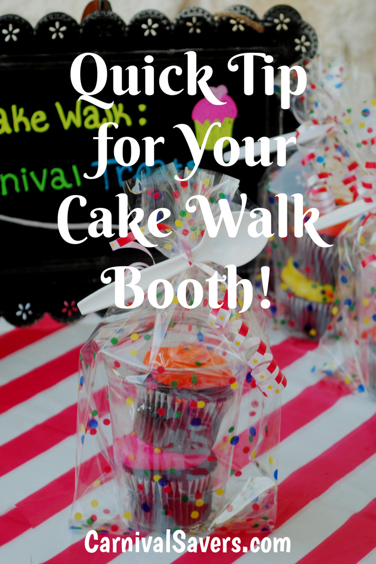 A Simple Way To Avoid... Cake walk game, Carnival cakes