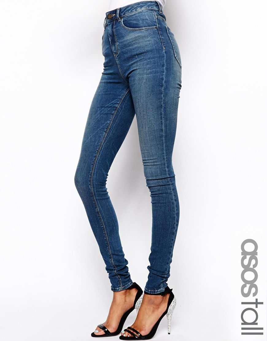High waisted jeans for tall ladies