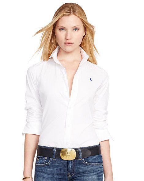 san francisco 282b5 d6a6e Polo Ralph Lauren - Slim-Fit Popelinehemd | women's board ...