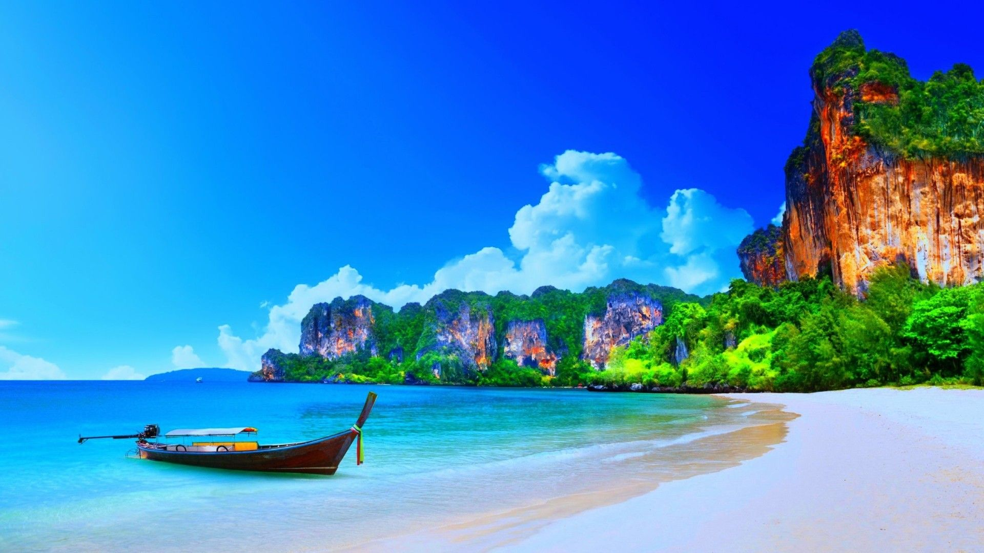 Tropical Island Beach Ambience Sound: Thailand Beach Wallpapers Background