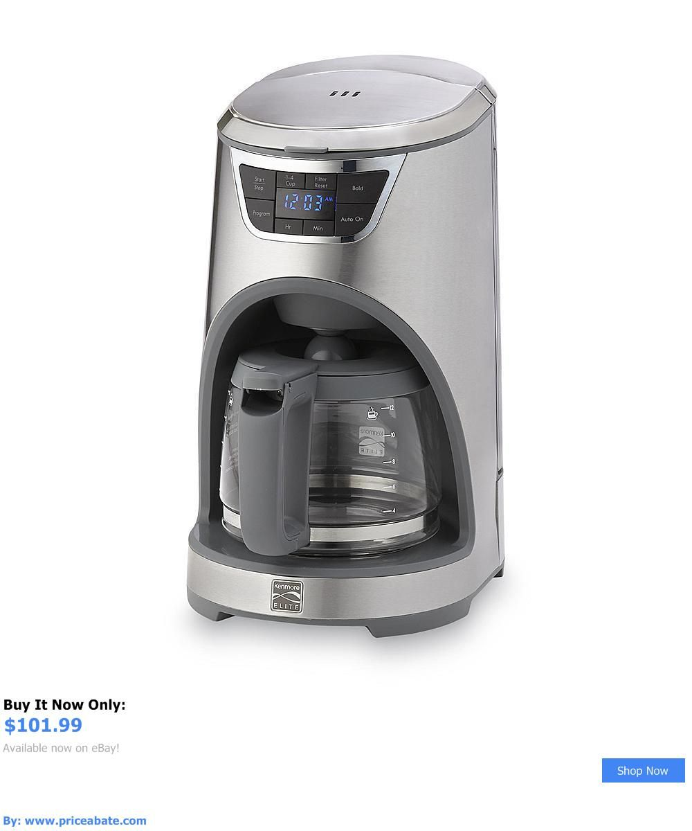 Uncategorized Elite Kitchen Appliances small kitchen appliances kenmore elite 12 cup drip coffee maker stainless steel coffee