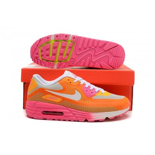 online store a2394 ca4bf ... reduced nike air max 90 lunar pink orange womens shoes 1873a 113b2