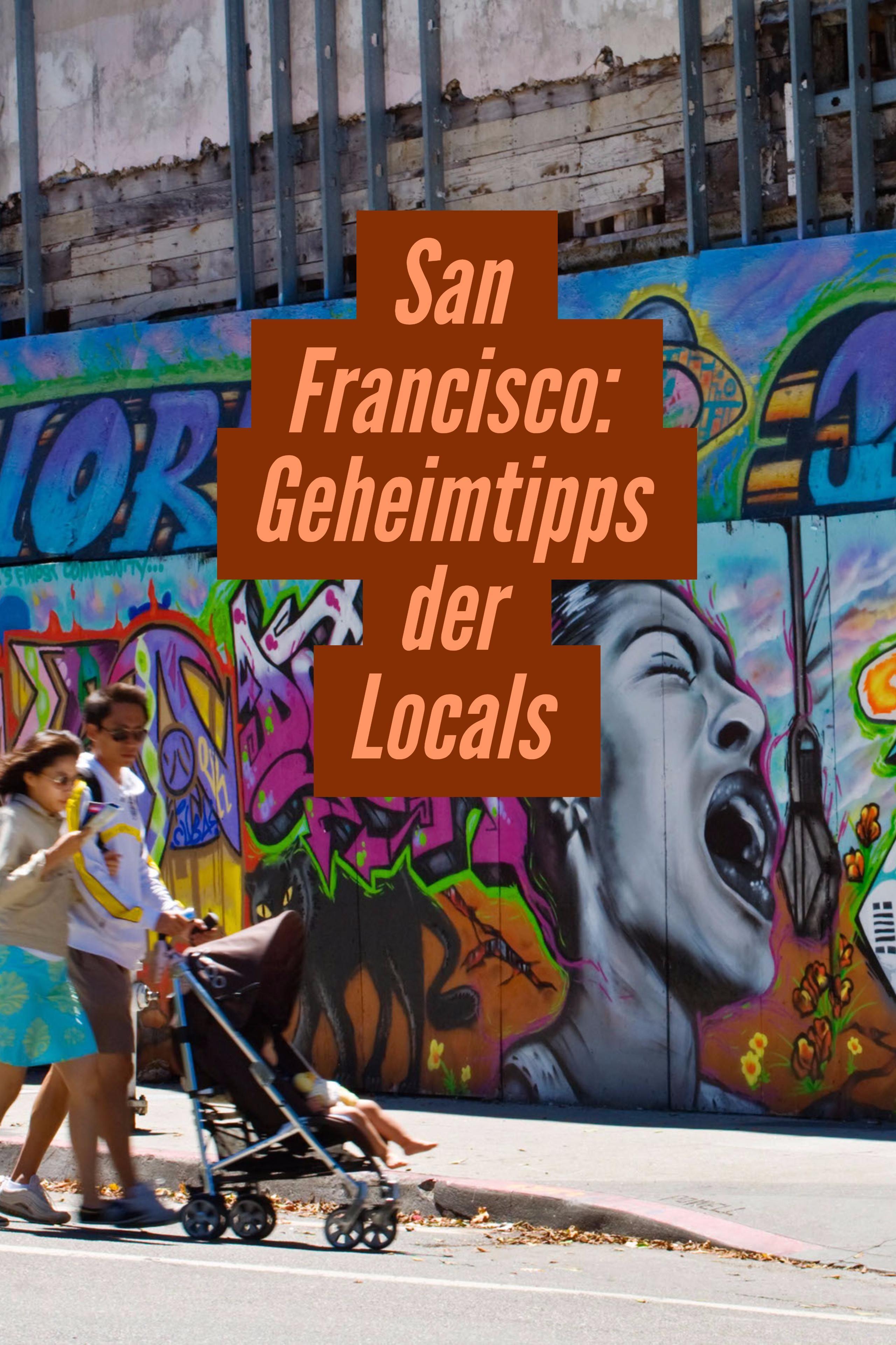 Golden Gate Bridge, Union Square – doch abseits der Touristenströme verbirgt sich das wahre San Francisco. Mit diesen 5 Tipps von Locals lernst du die Stadt der 42 Hügel ganz anders kennen. #travelnorthamerica