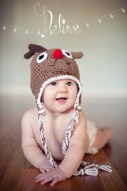 Ravelry: Reindeer Hat pattern by Little Punky Designs