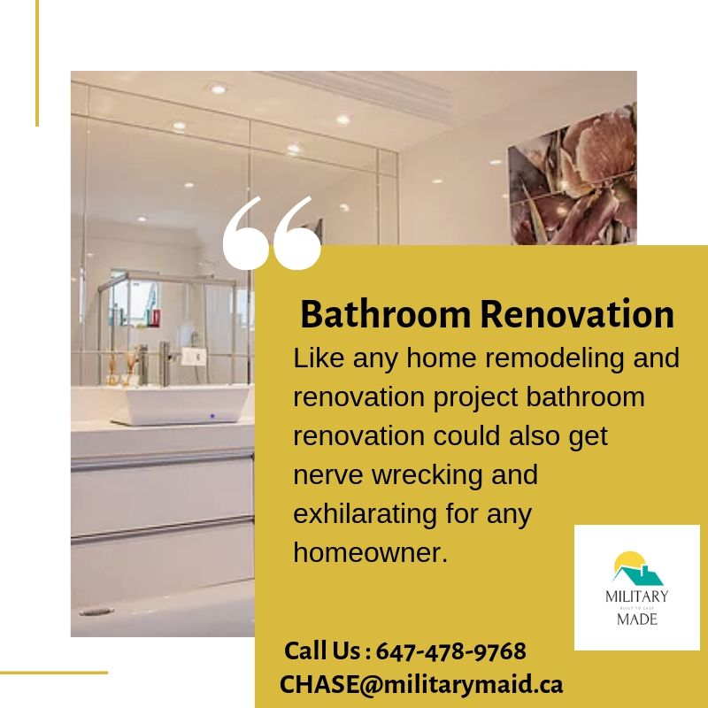 Our Bathroom renovations Mississauga team has completed ...