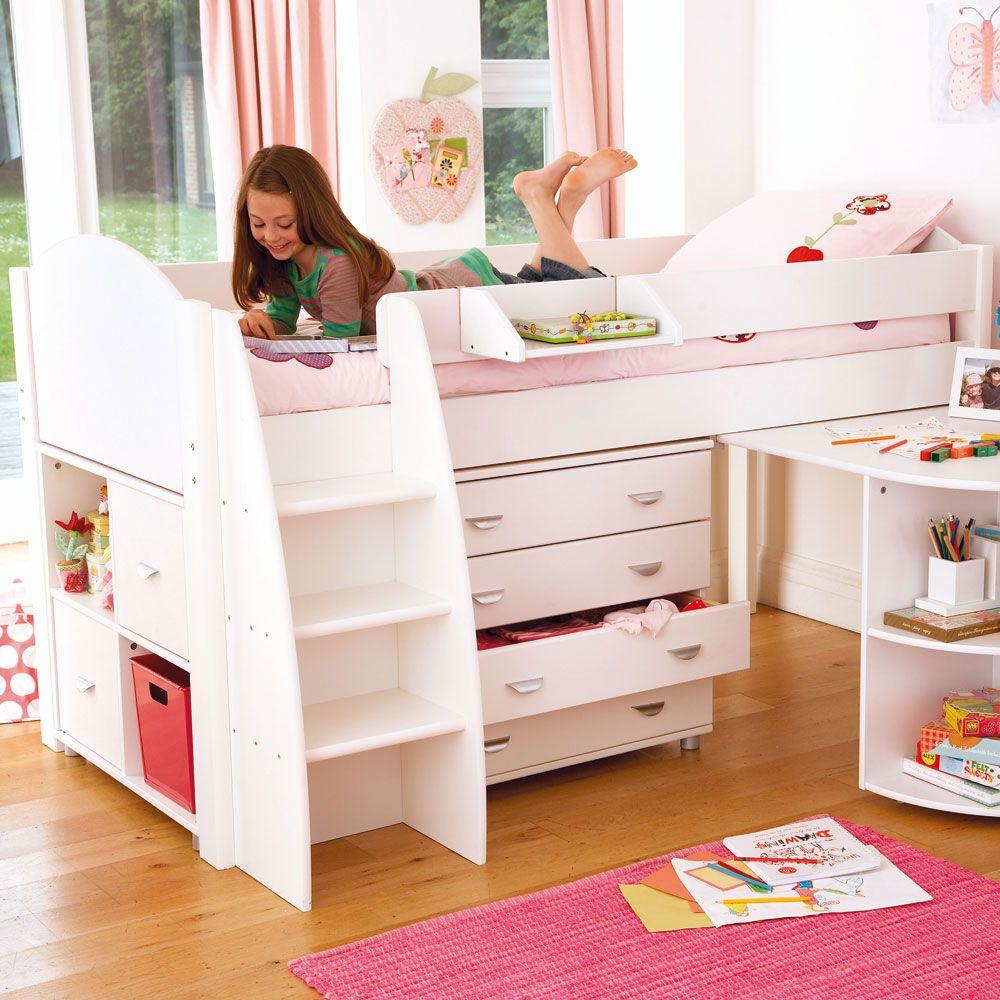 Reece Cabin Bed in 2019 Kid beds, Kids bunk beds, Low