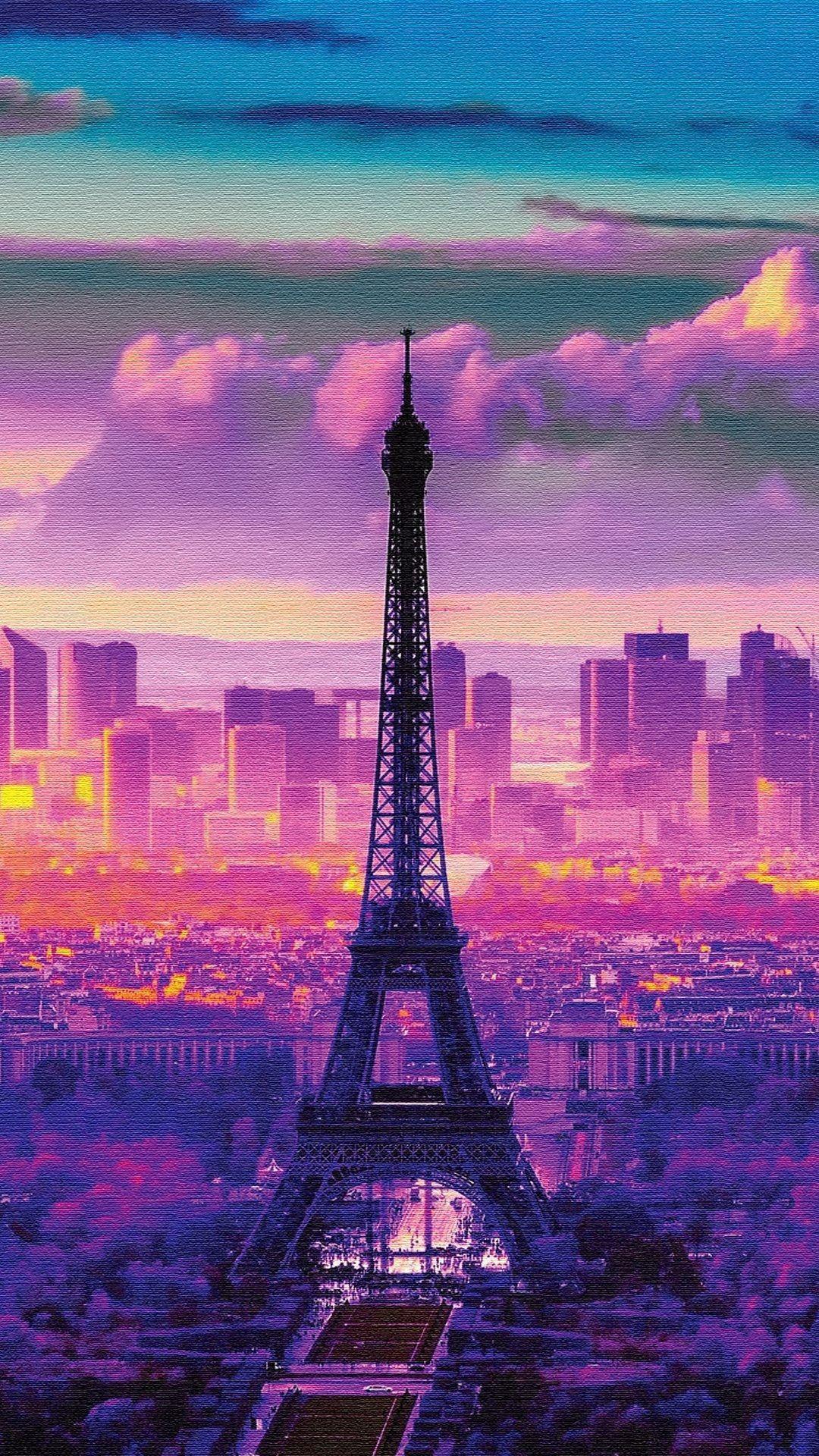 naturelandscape sunrise in paris iphone 6 plus wallpapers