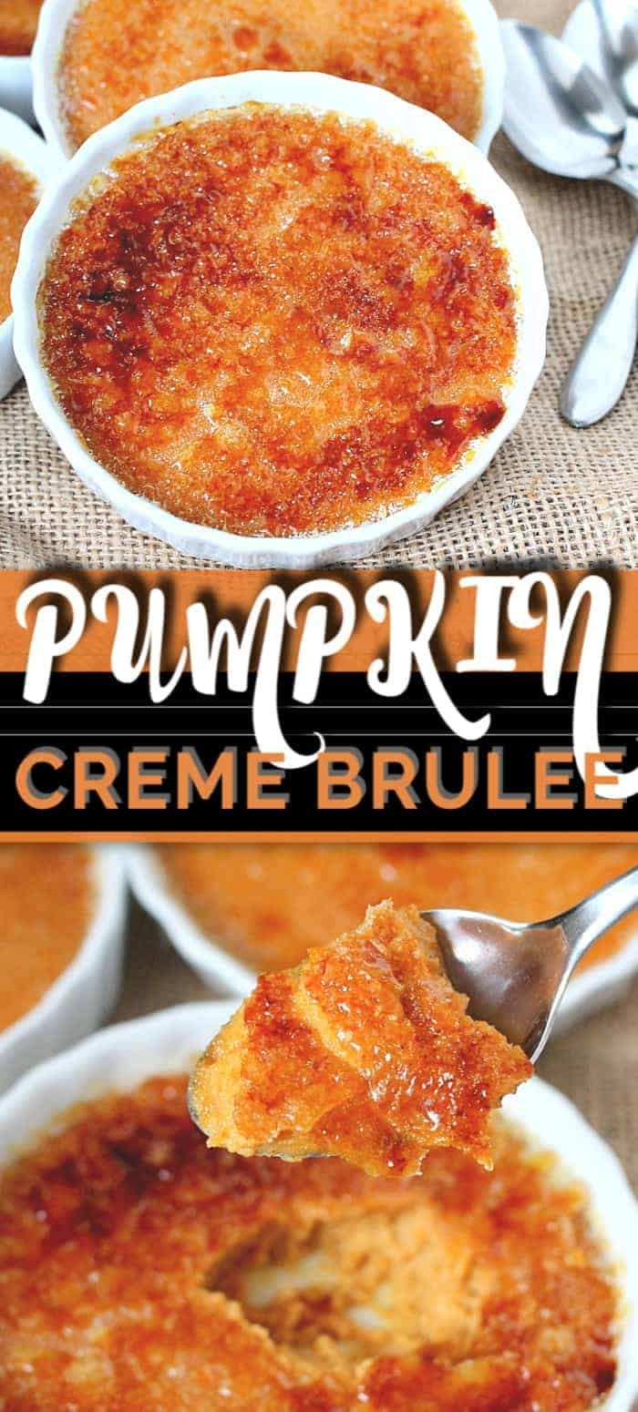 Photo of Pumpkin Crème Brulee