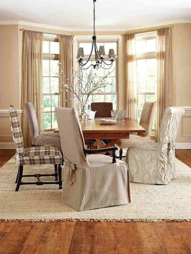 Dining Room Chair Covers With Arms Decor Ideasdecor Ideas Cover Prepossessing Chairs Covers For Dining Room Decorating Inspiration