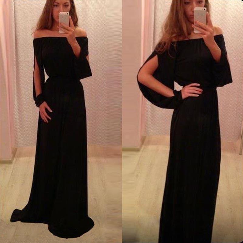 Sexy Women Strapless Boho Long Maxi Evening Party Dress Chiffon Dress  Excellent  UnbrandedGeneric  Dress  Clubwear 04941146e132
