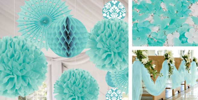Robins egg blue wedding decorations party city party birthday theme seasonal party goods wedding decoration suppliesblue junglespirit Choice Image