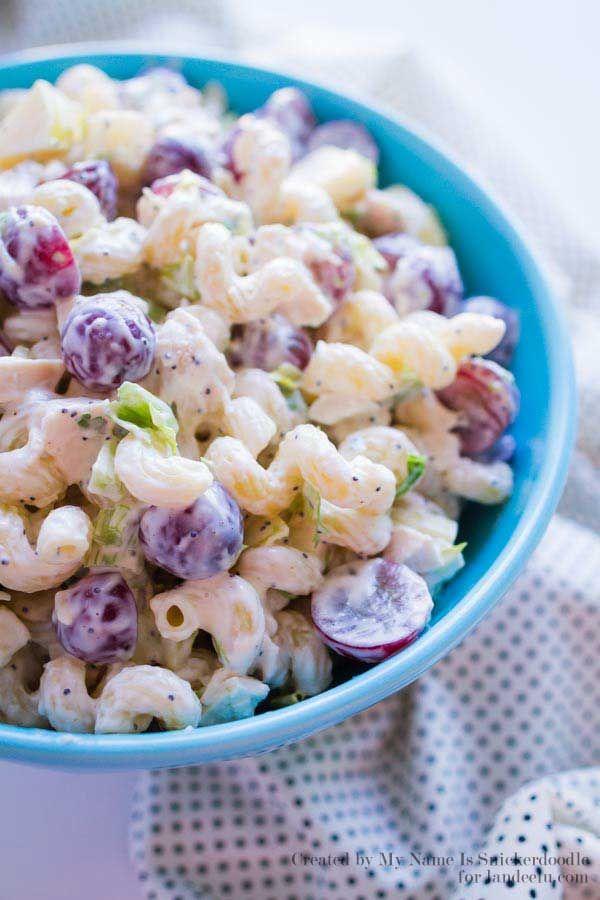 Chicken Apple Pasta Salad Recipe The O 39 Jays Salad