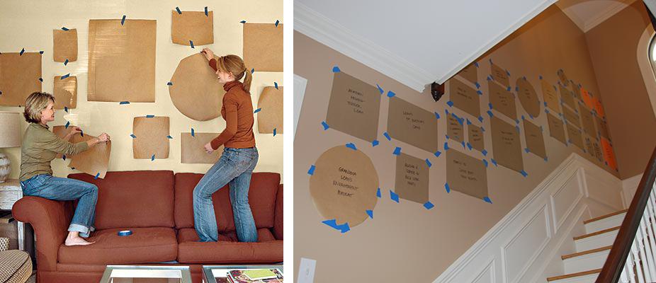 la fabrique d co astuces pour bien accrocher vos tableaux et vos cadres au mur deco. Black Bedroom Furniture Sets. Home Design Ideas