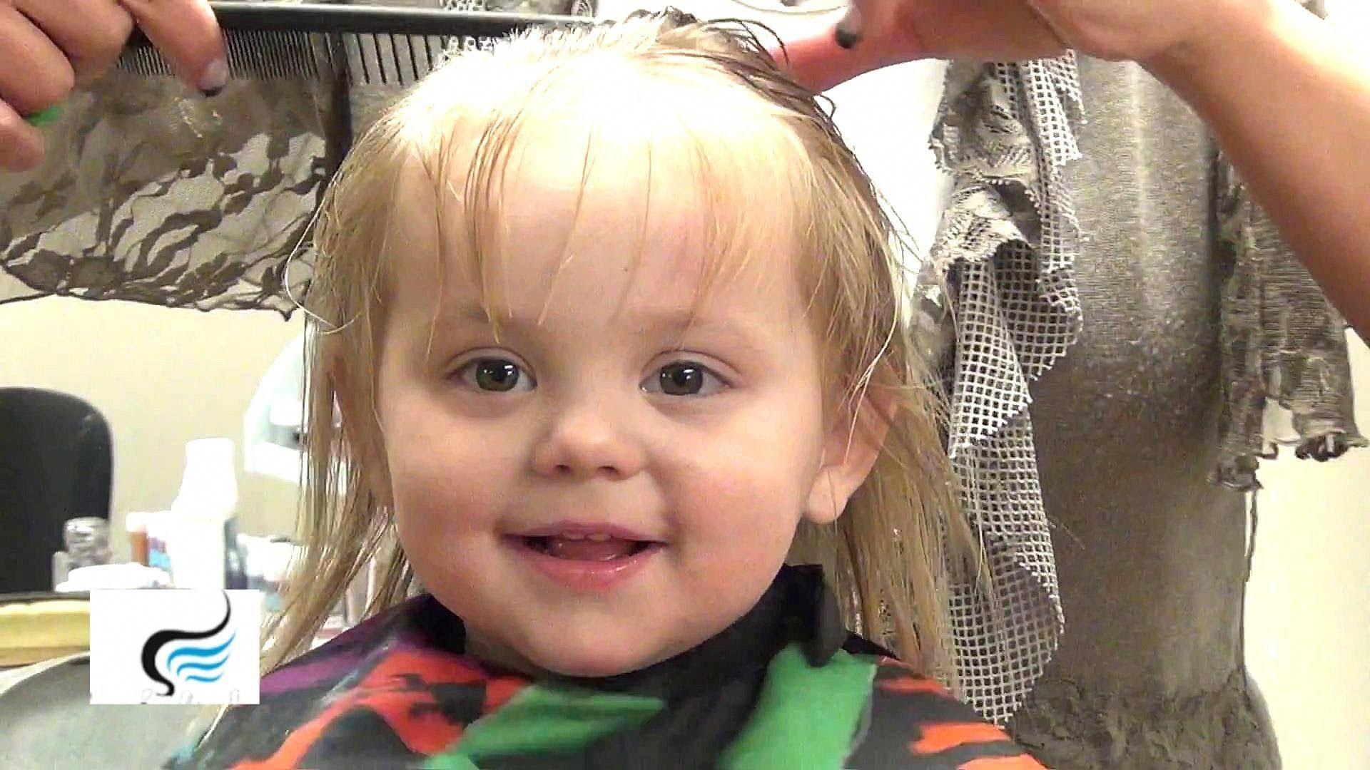 Toddler Girl Haircut At Home Haircut Haircutathome Toddler