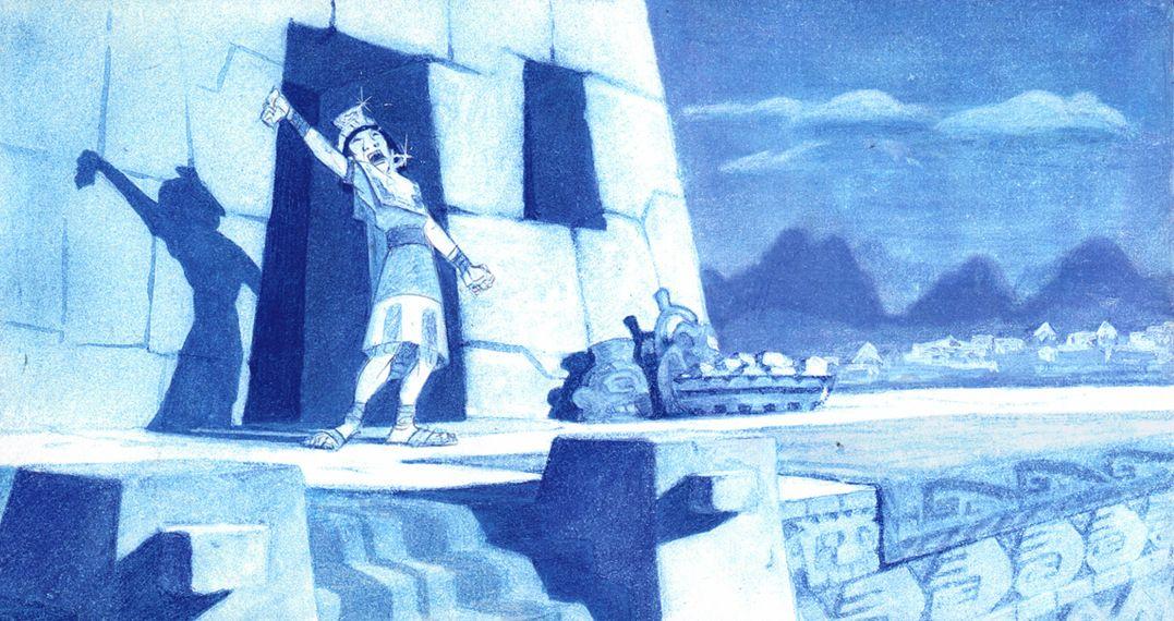Kuzco, l'Empereur Mégalo [Walt Disney -2001] - Page 6 33b07a0b5d05272a53d58ee7e8080863