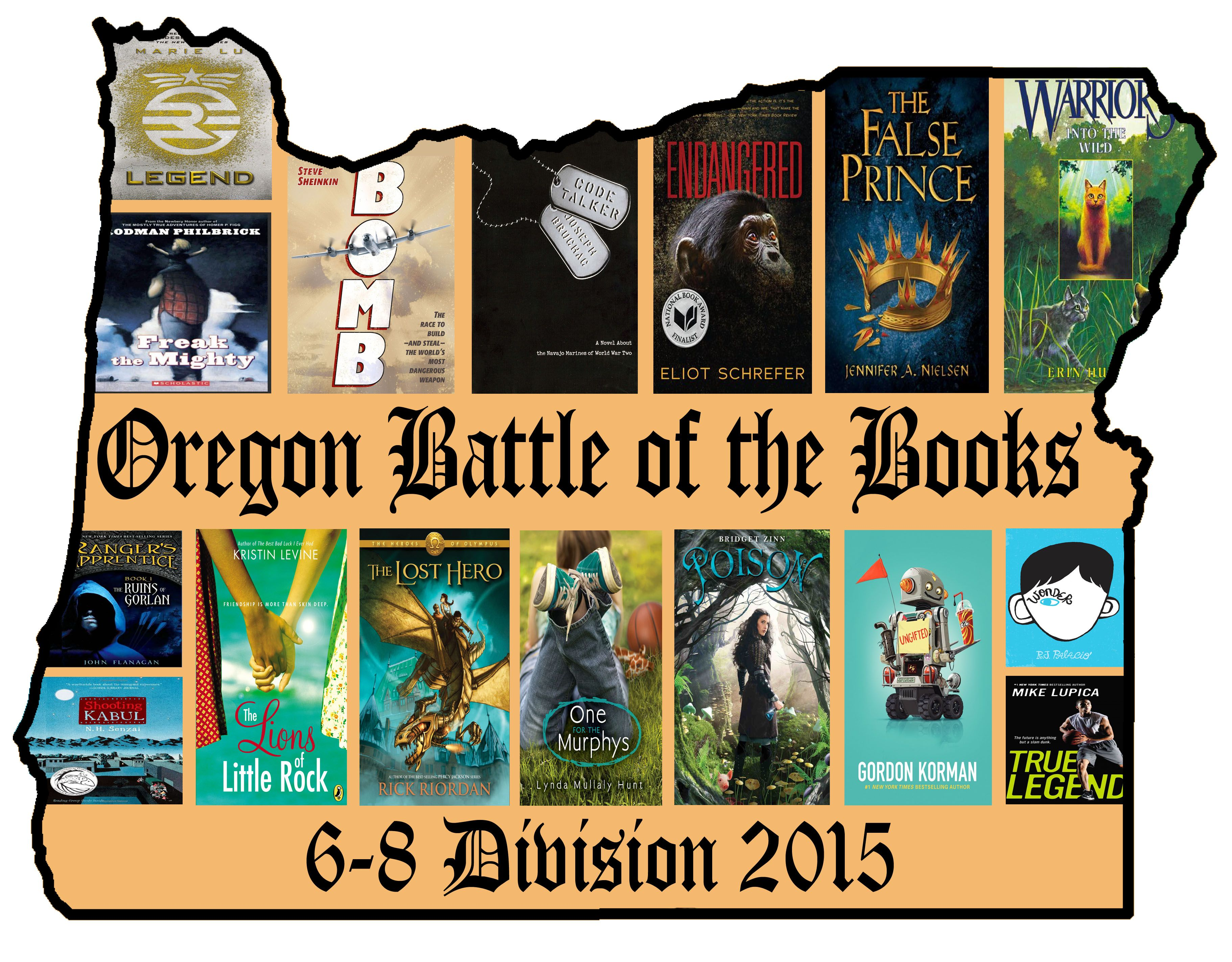 Obob 6 8 Division Reading Lists For 6 8th Graders This