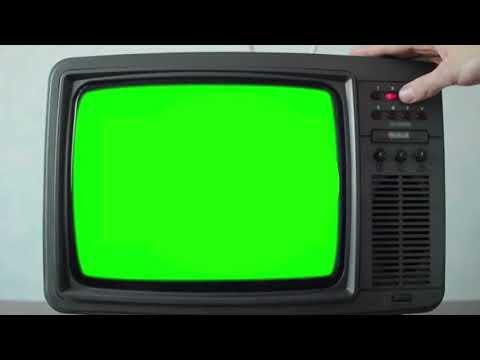 Tv Green Screen Effect 4k Youtube Greenscreen Green Background Video Green
