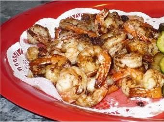 Caribbean Jerk Shrimp #jerkshrimp