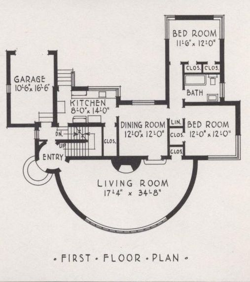 art deco floor plan home sweet home Pinterest