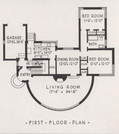 Art Deco Floor Plan Art Deco Home House Of Tomorrow Modern Art