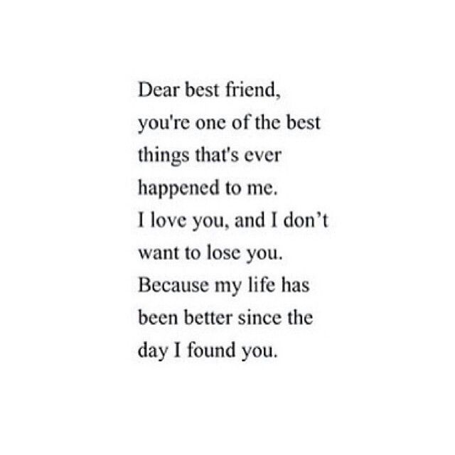 dear bestfriend im sorry that i screwd things up but my life has