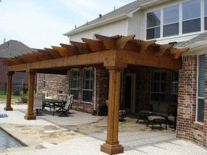 Outdoor Covered Patio Design | Custom Patio Covers, Pergolas And Arbors,  Austin, Texas