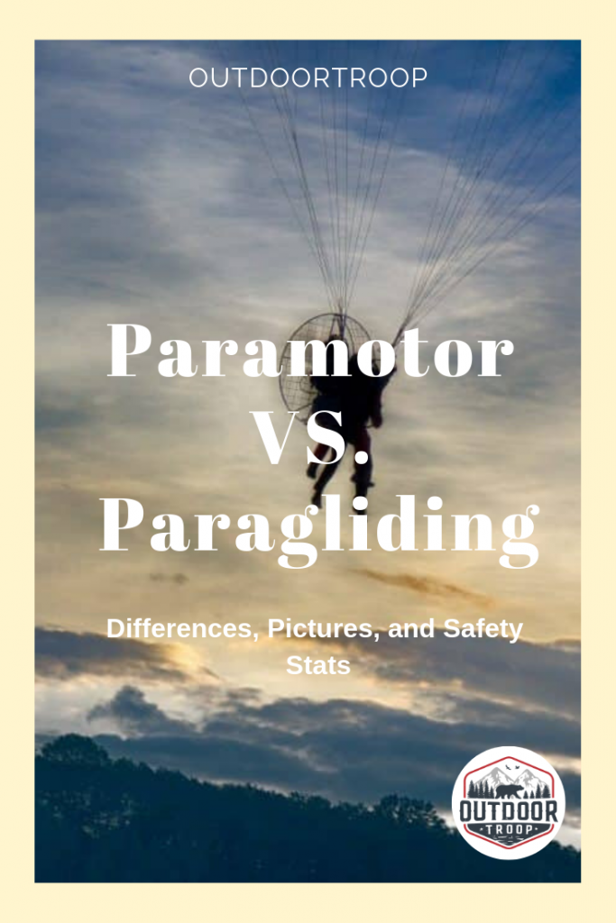 Paramotoring and Paragliding are two rare sports in the