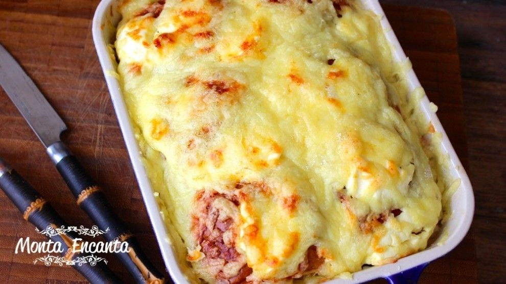 Lasanha De Cream Cheese E Bisnaguinha Receitas Pinterest