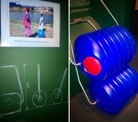 ¿Sabías que hay niñas que no acuden a la escuela por tener que caminar horas para transportar agua a sus familias? Hippo Roller  transporta ...