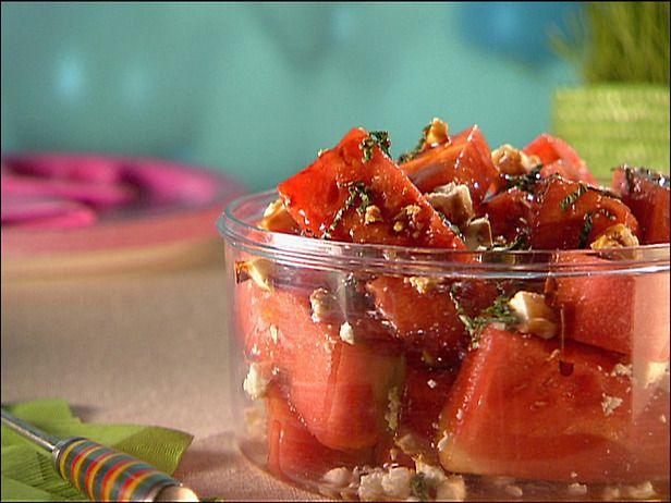 Watermelon, feta & balsamic