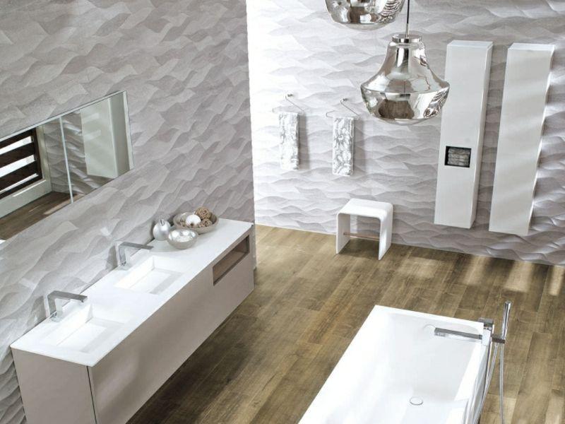 moderne badfliesen 2017 tolle designs im berblick - Moderne Badfliesen