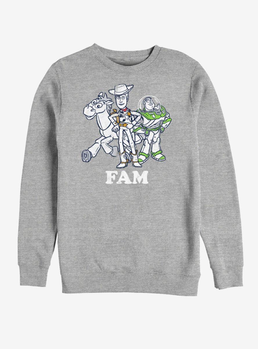 Disney Pixar Toy Story Fam Sweatshirt Sweatshirts Print Clothes Sweatshirt Designs [ 1200 x 889 Pixel ]