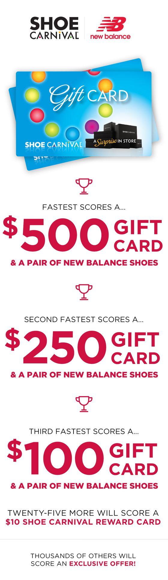 Shoe Carnival Gift Card Balance